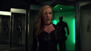 Black Siren and Black Canary fight in bunker (3)