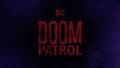 Doom Patrol title card