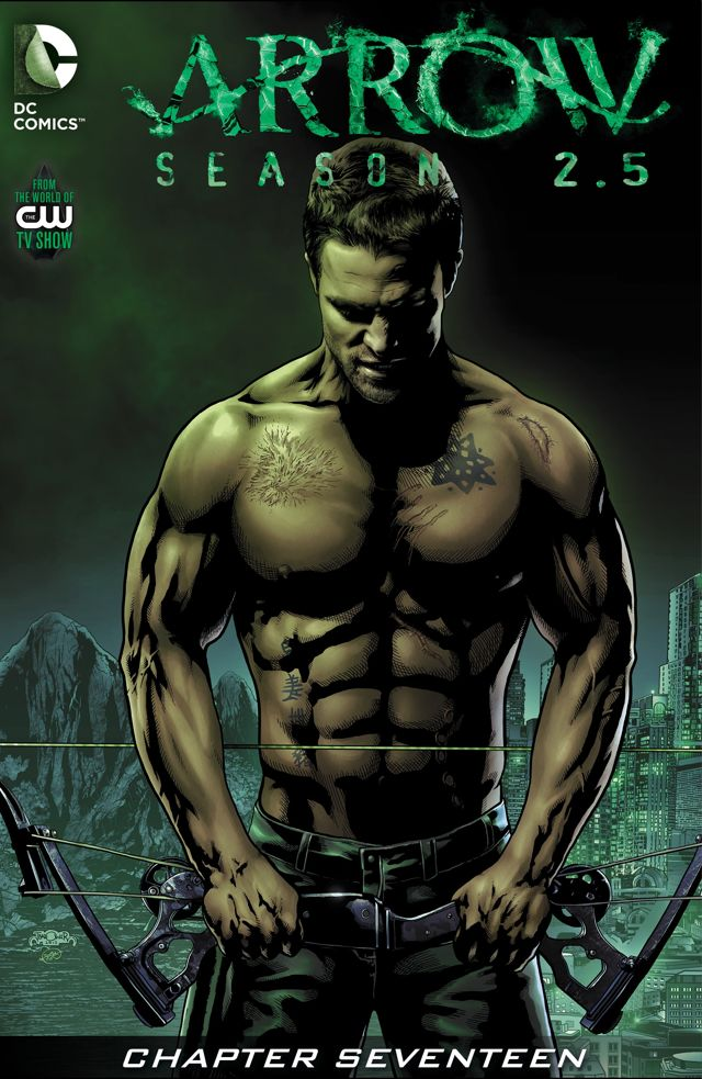 Arrow Season 2.5 chapter 17 digital cover.png