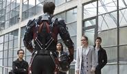 Atom and Barry Allen Team