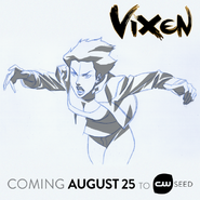 Vixen - Early concept design by Phil Bourassa
