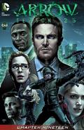 Arrow Season 2.5 chapter 19 digital cover