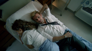 John Constantine stay with Zed Martin in hospital (2)