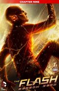 The Flash Season Zero chapter 9 digital cover