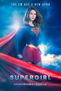 Supergirl season 2 poster - The CW Has a New Hero.png