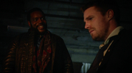 Tobias Church kiddnapped Oliver Queen (2)
