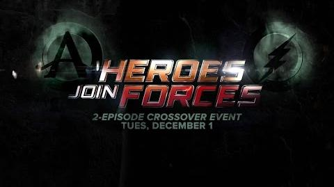 """The Flash & Arrow - """"Heroes Join Forces"""" Two Hour Event Promo (HD)"""