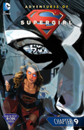 Adventures of Supergirl chapter 9 full cover