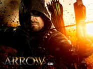 Arrow season 7 key art