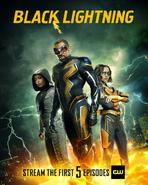 BlackLightning - S3 Poster - Streaming 5 episodes