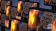 Eshu fight with Vixen, Kuasa, Atom and Black Canary (2)