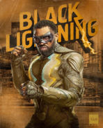 Jefferson Pierce as Black Lightning promotional image 3