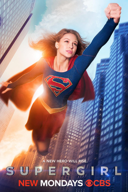 Supergirl season 1 poster - A new hero will rise..png