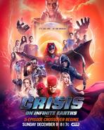 Crisis en Tierras Infinitas - Poster