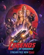 DC's Legends of Tomorrow Season 6 New Poster