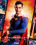 Imagem promocional de Superman para a T1 de Superman and Lois