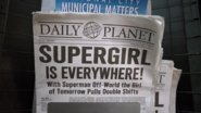 Lois Lane's article on Supergirl