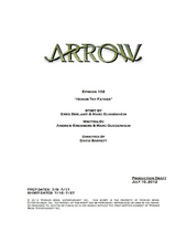 Arrow script title page - Honor Thy Father.png