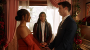 Barry and Iris renew their vows