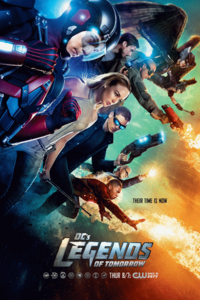 DC's Legends of Tomorrow season 1 poster - Their Time is Now.png