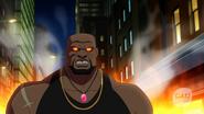 Eshu fight with Vixen, Kuasa, Atom and Black Canary (5)