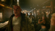 Leonard Snart, Mick Rory and Sara Lance fight in club (3)