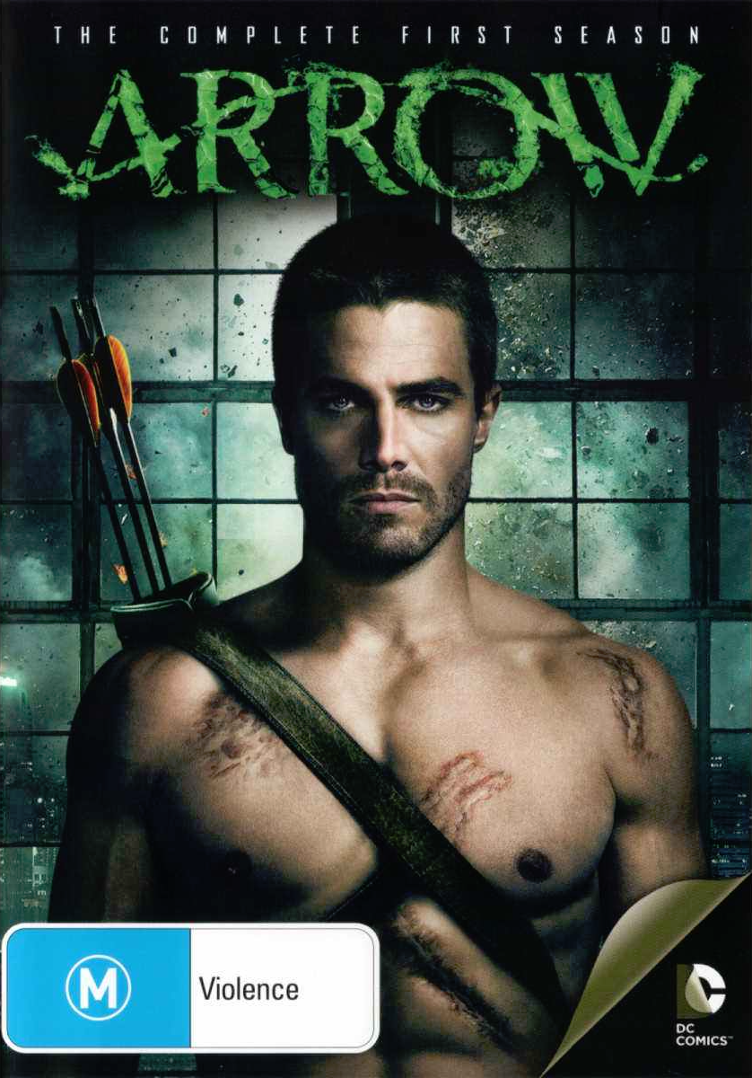 Arrow - The Complete First Season region 4 cover.png