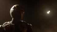 James Olsen's Earth-X doppelgänger masked