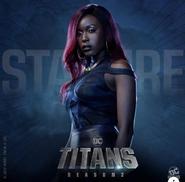 Titans - Starfire Poster - Season 2