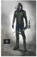 Green Arrow suit - season 8 concept art