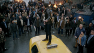 Oliver Queen rallies the people of Star City