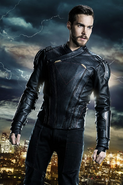 Supergirl season 3 poster - Mon-El in his Legion suit