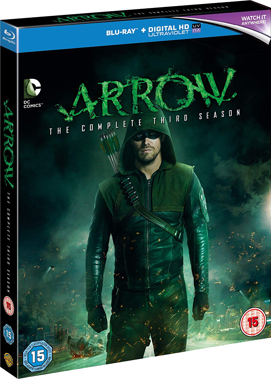 Arrow - The Complete Third Season region B cover.png