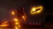 Flash i The Ray próbują zatrzymać Red Tornado (1)