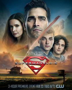 Superman & Lois poster - Saving the World Starts at Home.png