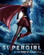 They do not come in peace supergirl S2
