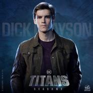 Titans - Dick Grayson Poster - Season 2