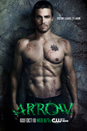 Arrow promo - Destiny leaves its mark - rock background