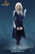 Killer Frost (Caitlin Snow) concept art