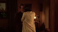 Joe and Edith Boardman kiss (1)
