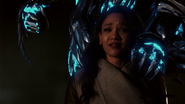 Savitar prepares to kill Iris