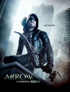Arrow season 5 poster - Justice on the Hunt
