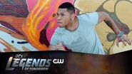 DC's Legends of Tomorrow Firestorm Mural Revealed The CW