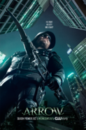 Arrow Season 5 poster - His Fight His City His Legacy