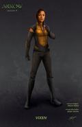 Arrow season 4 - Vixen concept artwork
