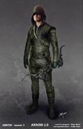 The Arrow season 3 concept artwork