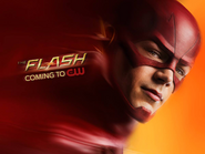 The Flash coming soon poster