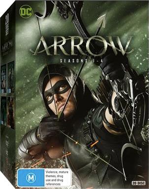 Arrow - Seasons 1-4 region 4 cover.png