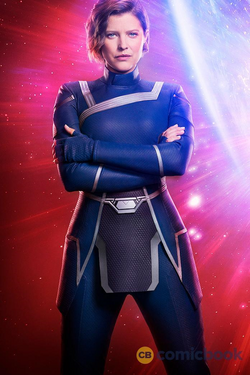 Crisis on Infinite Earths - Lyla Michaels as Harbinger first look.png