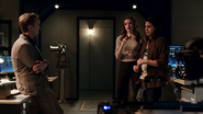 Julian, Caitlin and Cisco talk about Speed Force
